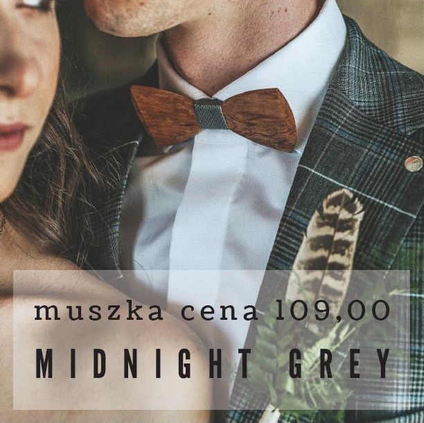 Drewniane muszki Made in Poland