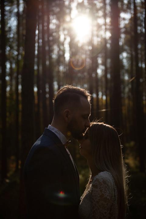 sesja w plenerze inspiracje ślubne
